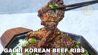 BEST Galbi Korean Beef Short Ribs Recipe