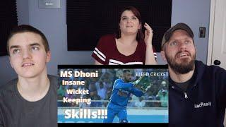 MS DHONI Insane Wicket Keeping Skills REACTION!