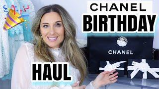 HUGE CHANEL BIRTHDAY HAUL