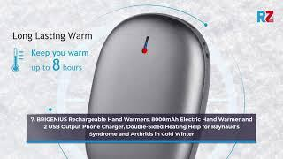 Best Hand Warmers Rechargeable | Top 10 Hand Warmers Rechargeable for 2020-21 | Top Rated