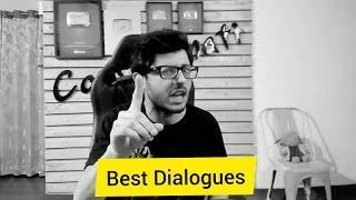 Top 10 dialogues / lines of CarryMinati, YouTube vs Tiktok THE END. #Carryminati #shayeri #dialouge