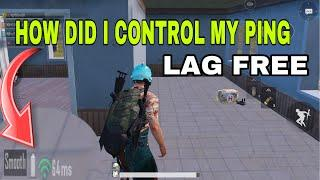 PUBG  PING PROBLEM LAG PROBLEM || HOW TO CONTROL HIGH PING AND LAG PROBLEM || BEST EXPLAIN