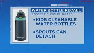 5.7 Million Kids Water Bottles Recalled Due To Choking Hazard