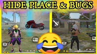 Free fire NEW top 10 hide place & bugs in Tamil...... // S7 GAMING //