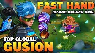Gusion Insane Burst Damage Build, Fast Hand | Top Global Gusion Gameplay | Mobile Legends✓