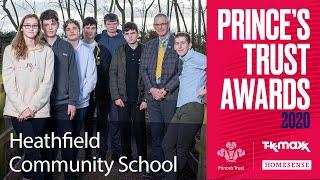 Year 10 pupils from Heathfield Community School make a huge impact on their local community