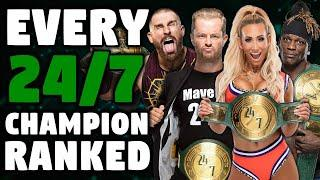 Every WWE 24/7 Champion Ranked From WORST To BEST