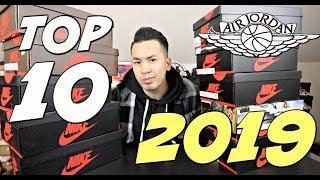 TOP 10 AIR JORDAN 1 OF 2019 !!!