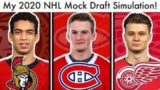 2020 NHL Mock Draft Lottery Simulation! (Top 15 Prospect Rankings & Habs/Red Wings/Sens Talk)