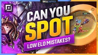 Can YOU Spot the LOW ELO Mistakes? (Skill Test Top Lane) - League of Legends