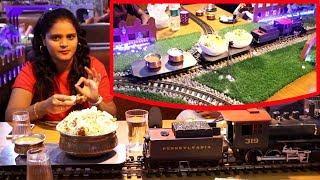 First Train Restaurant In Hyderabad | Crazy Indian Restaurant | Best Restaurant In Hyd | Food bucket