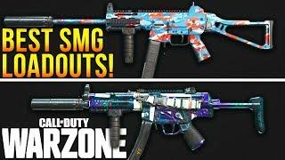 Call Of Duty WARZONE: The BEST Loadouts For EVERY SMG! (Warzone Best Classes)