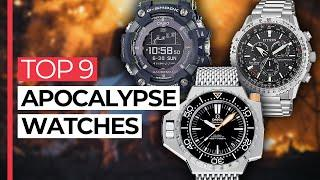 Top 9 Watches for the APOCALYPSE (from $90 to $9200) Toughest Watches for the End of the World!