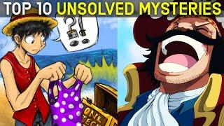 Top 10 Unsolved Mysteries in One Piece