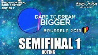 VOTING | SEMIFINAL 1 | Eurovision Ideal Song Contest #2 (With ESC songs)