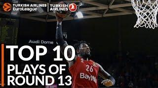 Turkish Airlines EuroLeague Regular Season Round 13 Top 10 Plays