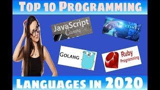 Top 10 programming Languages in 2020   Top programming Language