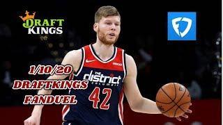 1/10/20 NBA DRAFTKINGS & FANDUEL PICKS