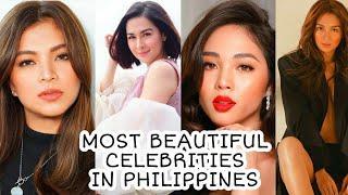 Top 10 Most Beautiful Celebrities In Philippines ★ Beautiful Filipino Girls