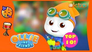 Ollie & Friends Season 6 | Top 10 Times Sloppy Saved the Day!