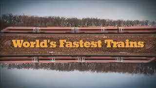 Top10 fastest train in the word