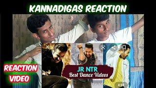 Jnr NTR top 10 Amazing  Dance steps reaction | Kannadigas reaction | Young tiger NTR |Reaction video