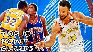 Top 10 Greatest Point Guards in NBA History