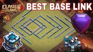 NGÔI LÀNG GIẢI HỘI CHIẾN CHƯA NÁT BAY CÚP HUYỀN THOẠI Clash of clans   Akari Gaming  Best Base Link