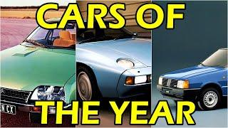 Cars Of The Year 1975-1985. TOP 10 car from 1970's and 1980's - and watch how car design evolved.