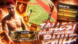 """6'10"""" SPEED-BOOSTING POINT FORWARD BUILD • BEST & TALLEST ISOLATION PLAYMAKER BUILD ON NBA2K20!"""