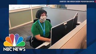 Mental Health Professionals Working Overtime And Beyond During Pandemic | NBC News NOW