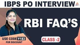 IBPS PO Interview 2019-20 | Important Topics For Bank PO Interview (Class 2)