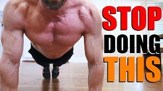 AVOID THESE 10 HOME WORKOUT MISTAKES!