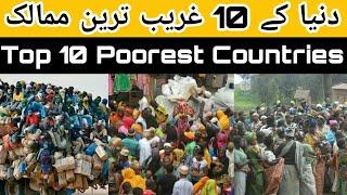 Top 10 Poor Country in the World 2020