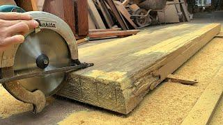 Ingenious Woodworking Skill Of Young Worker, Modern Woodworking Machines Work Extreme Fast Ever Seen
