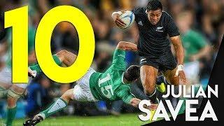 10 Humiliating Skill Moves by Julian Savea
