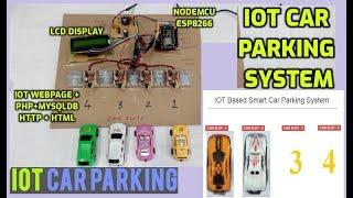 IOT Car Parking System Project