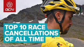 Top 10 Extreme Reasons Why Bike Races Were Cancelled