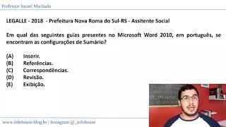 TOP 5 Informática | #04: Word
