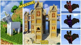 Top 10 Minecraft Mods Of The Week | Companion Bats, Yung's Better Portals, Hole Filler & More!