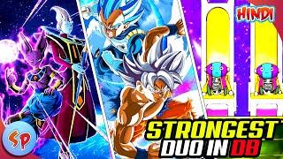 Top 10 Strongest Duo in Dragon Ball   Explained in Hindi