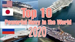 Top 10 Most Powerful Navy in the World 2020