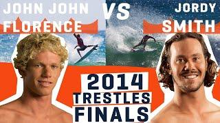 John John Florence VS Jordy Smith in the Finals of the 2014 Hurley Pro  at Trestles | WSL REWIND