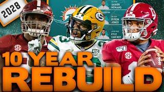 10 Year Dolphins Rebuild! Rebuilding The Miami Dolphins! Madden 20 Rebuild!