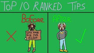 The Greatest Top 10 Ranked League Of Legends Tips