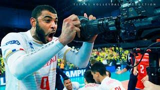 10 volleyball players who were STOPPED by Earvin Ngapeth