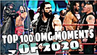 WWE Top 100 Omg Moments of 2020