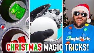 15 Clever Christmas Magic Tricks and Pranks | How To Magic!