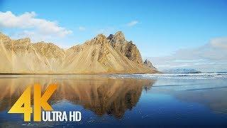 4K Landscapes of Iceland - Nature Relax Video with Nature Sounds - 10bit color