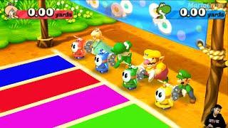 Mario Party The Top 100 Minigames - Yoshi vs Rosalina vs Wario vs Luigi | MARIO CRAZY